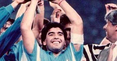 Maradona Supercoppa Italiana