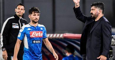 Dries Mertens and Genaro Gattuso